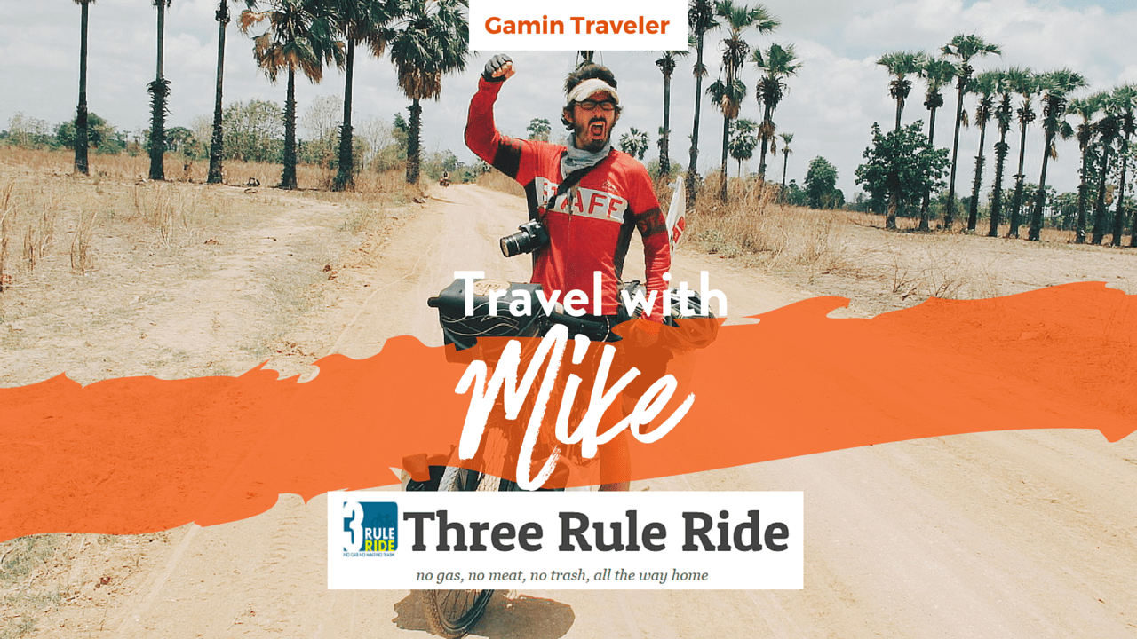 Interview with Mike of Three Rule Ride - Featured