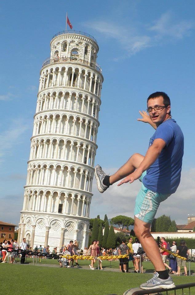 Autostop Magellan. Pisa