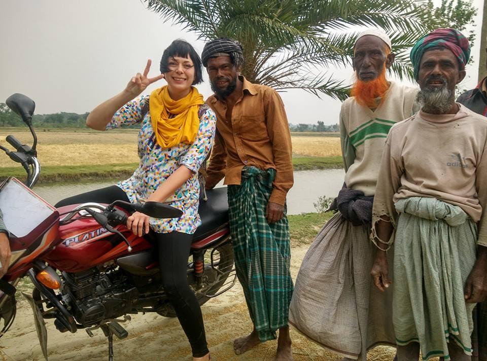 Teacake travels alone in bangladesh.