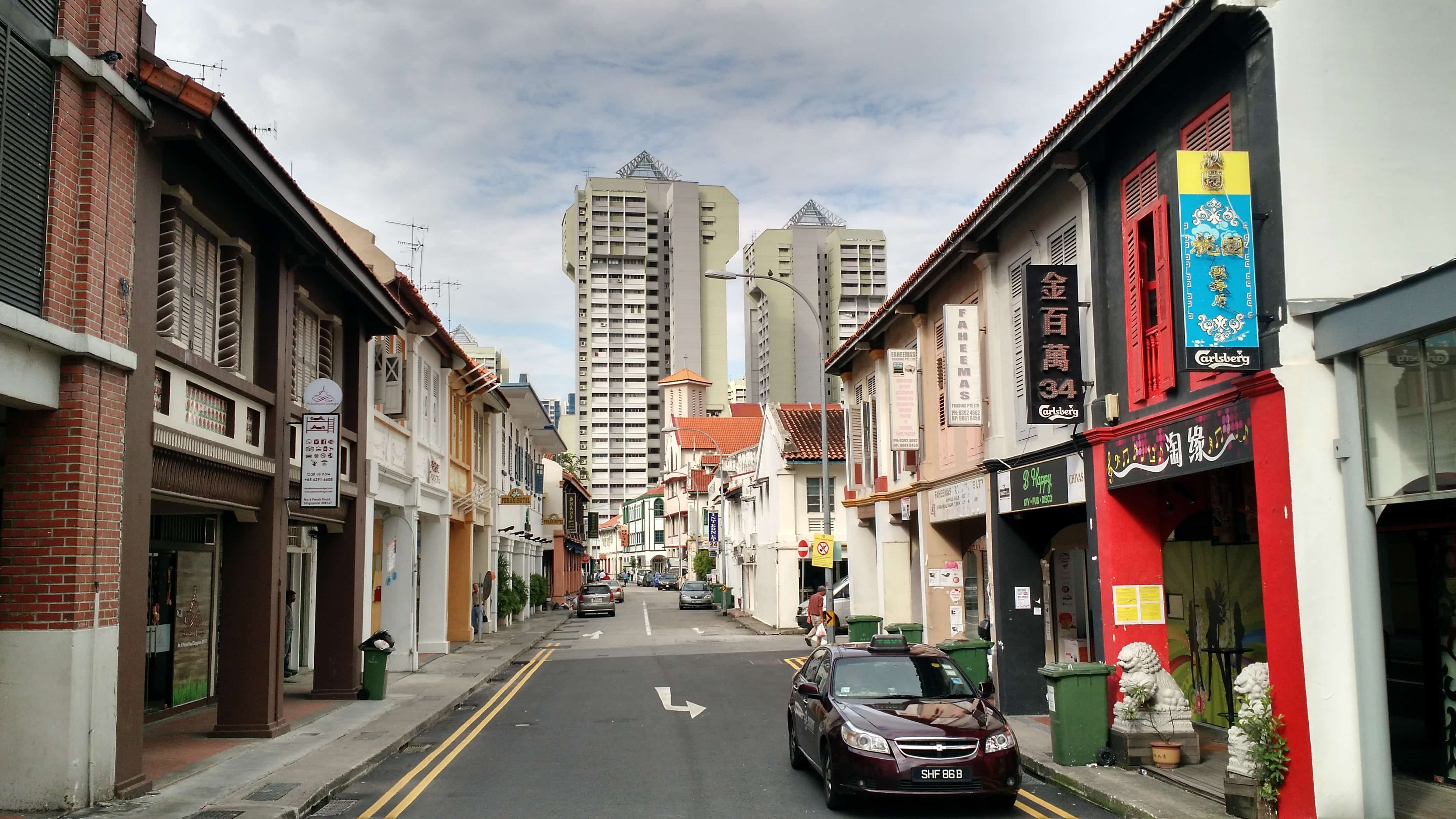 Travel Singapore. Little India.