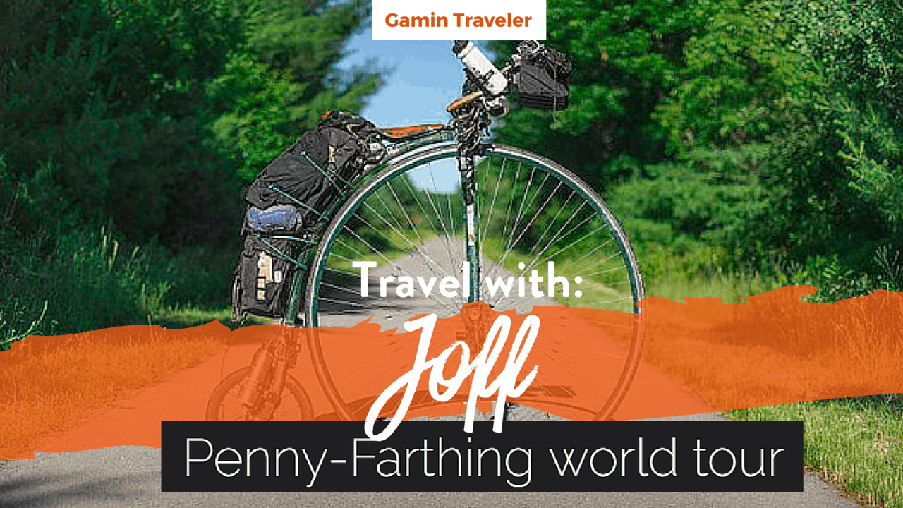 Interview with Joff of Penny Farthing World Tour Main Featured