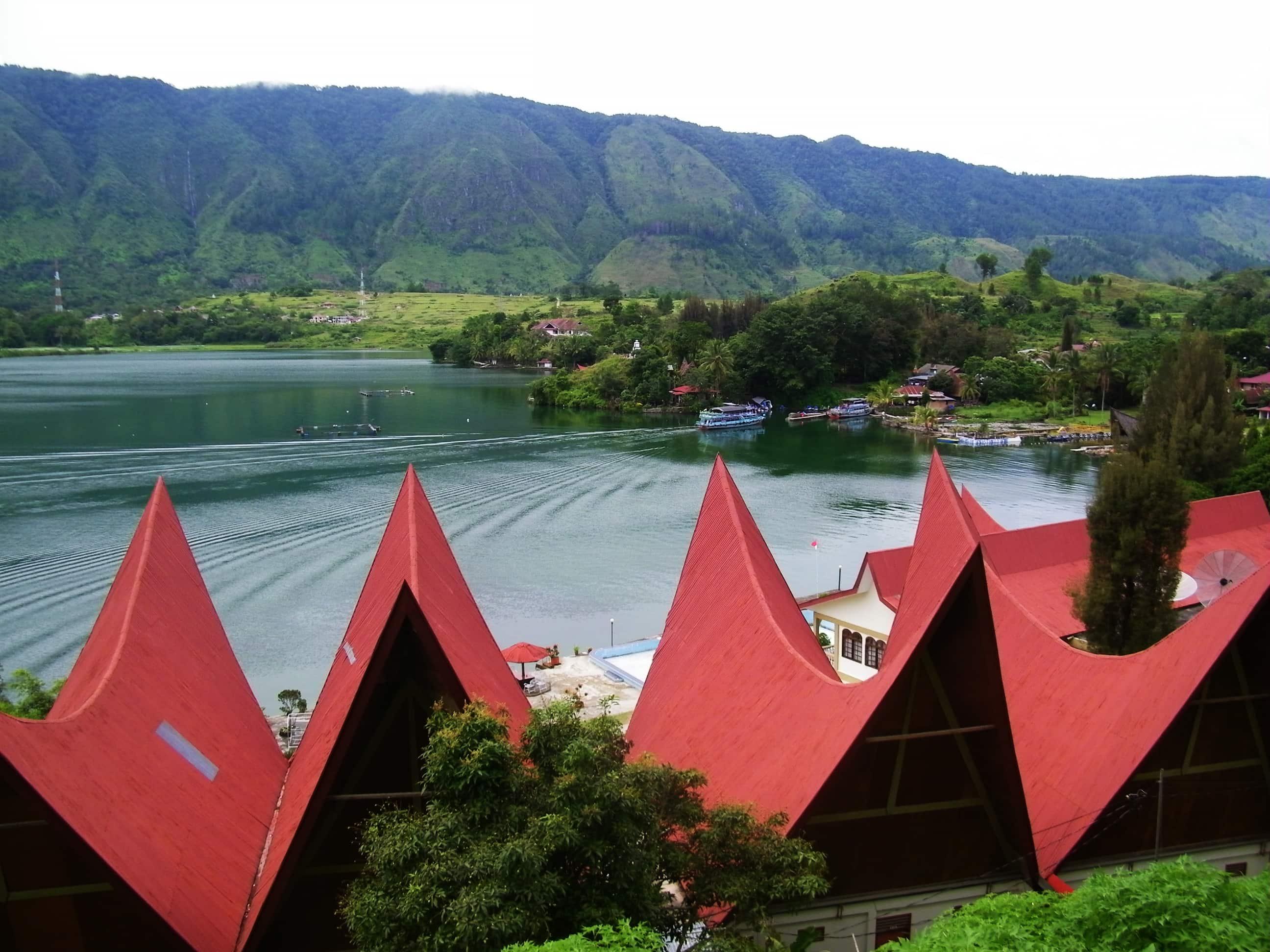 Lake Toba. Hidden Gem in Asia