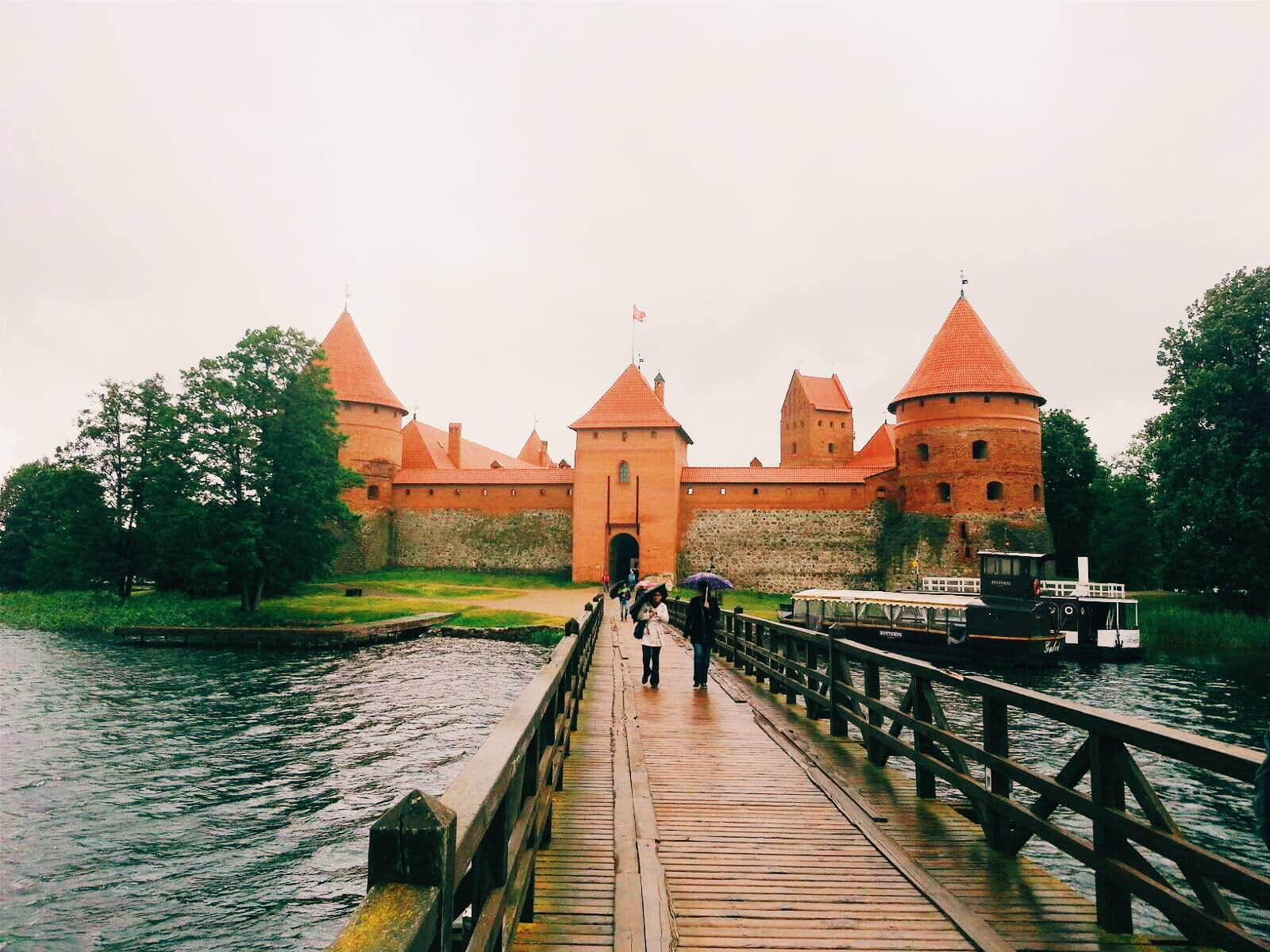 Trakai Lithuania is a very touristic spot in the country.