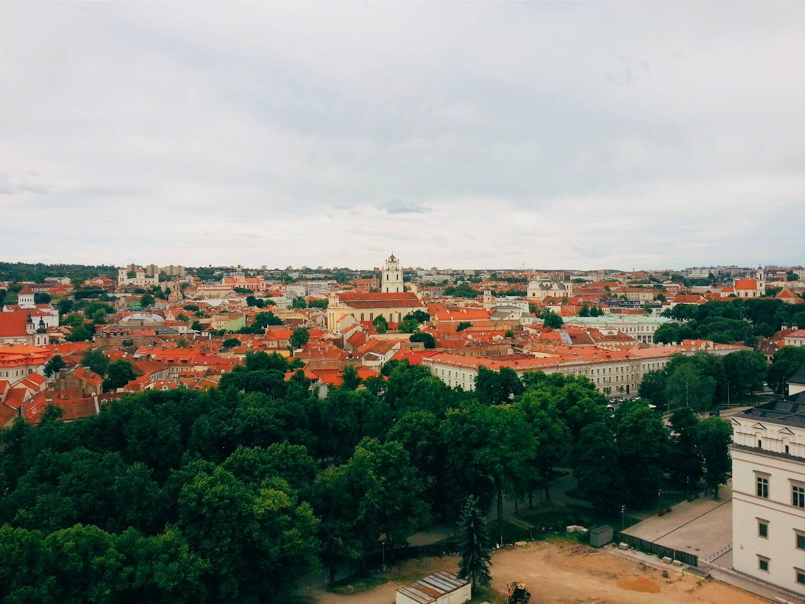 Vilnius, Lithuania was my first stop for this trip.