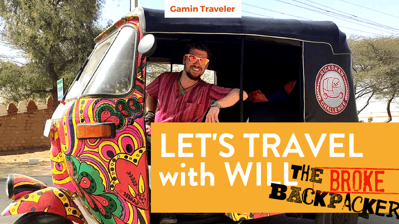 Interview with Will Hatton of The Broke Backpacker Travel Blogger