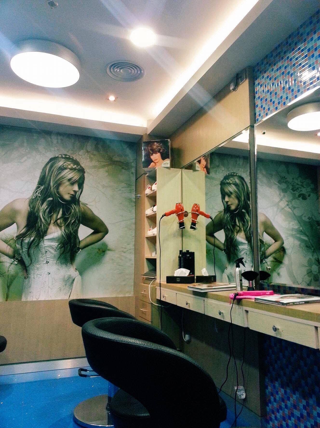 Man salon at Time Grand Plaza.