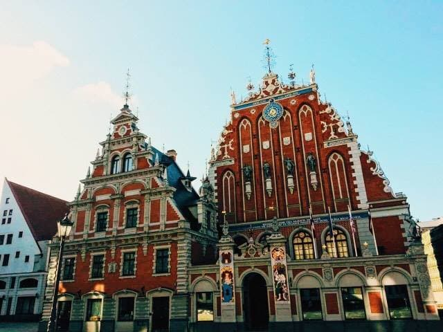 Riga is a great place for visiting in the Baltic countries.