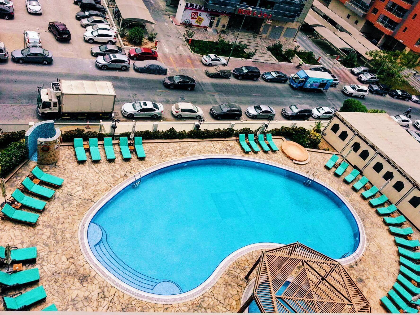Pool at Time Oak Hotel.