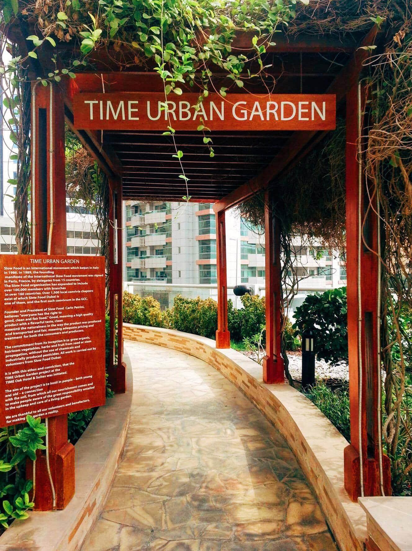 Organic Garden at Time Oak Hotel.