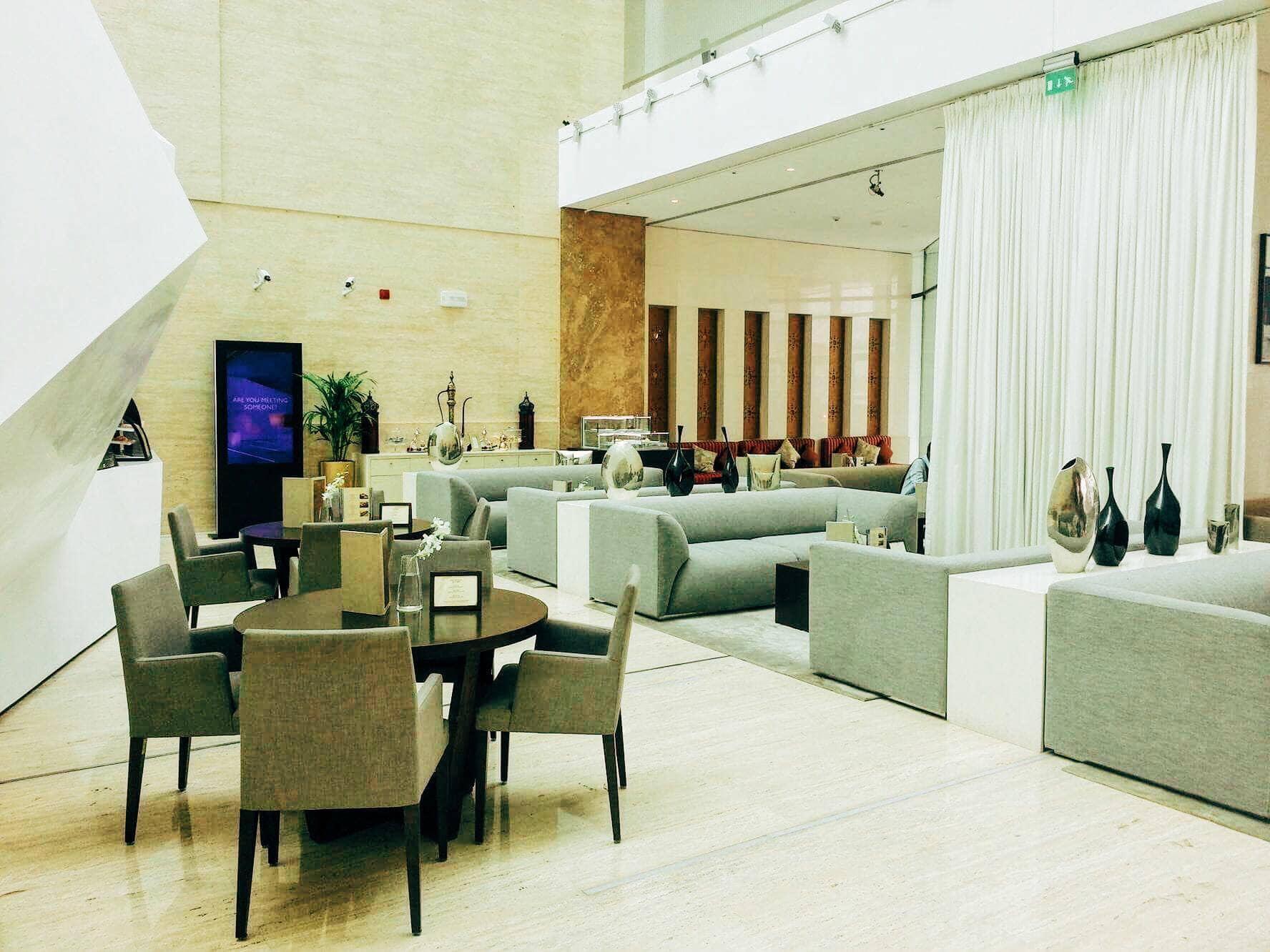 Lobby at Nassima Royal Hotel.