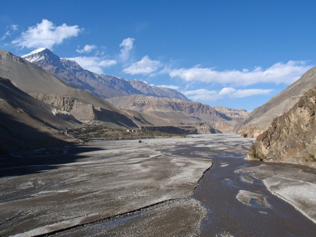 Dry River at Upper Mustang.