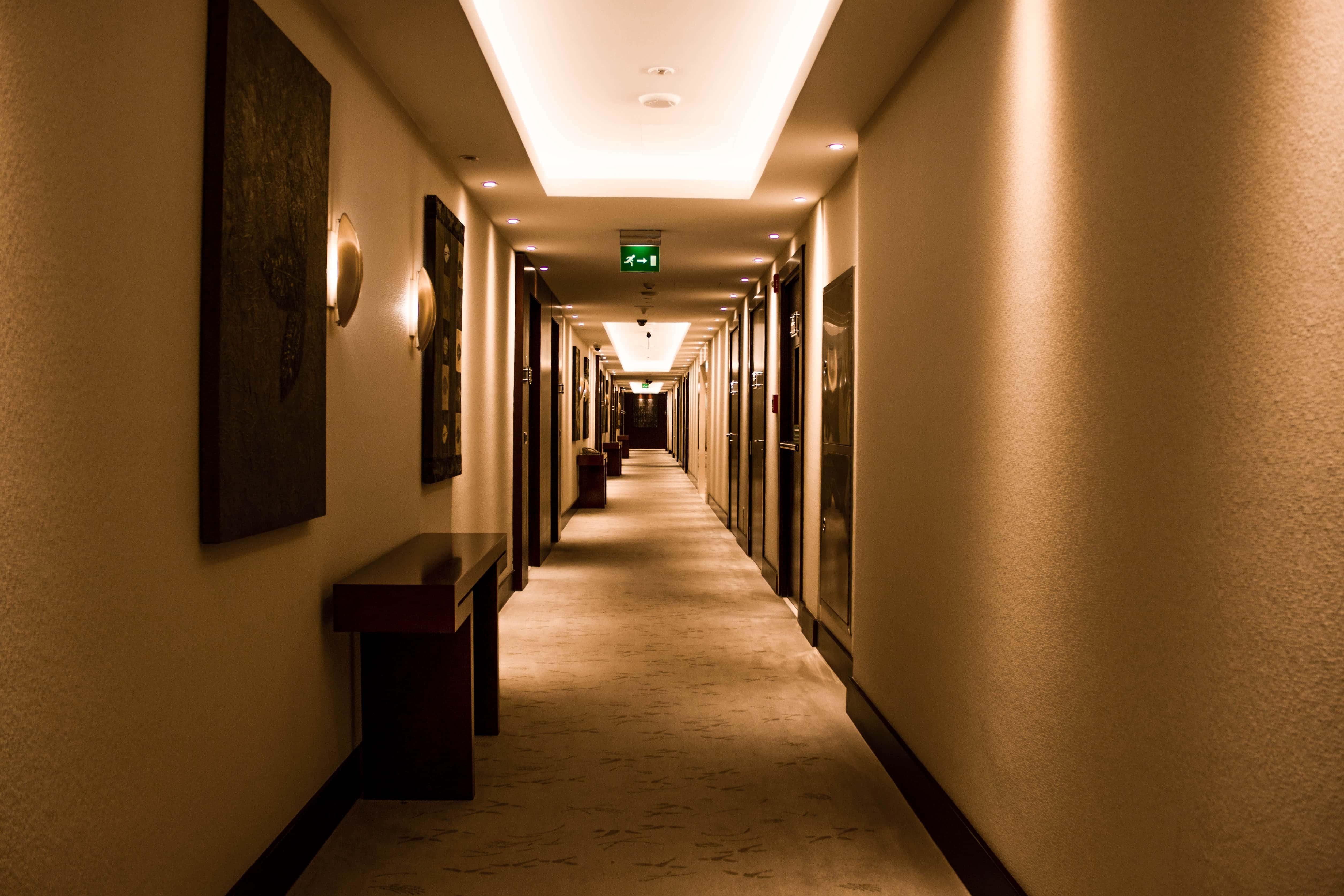 walking around Nassima Royal Hotel.