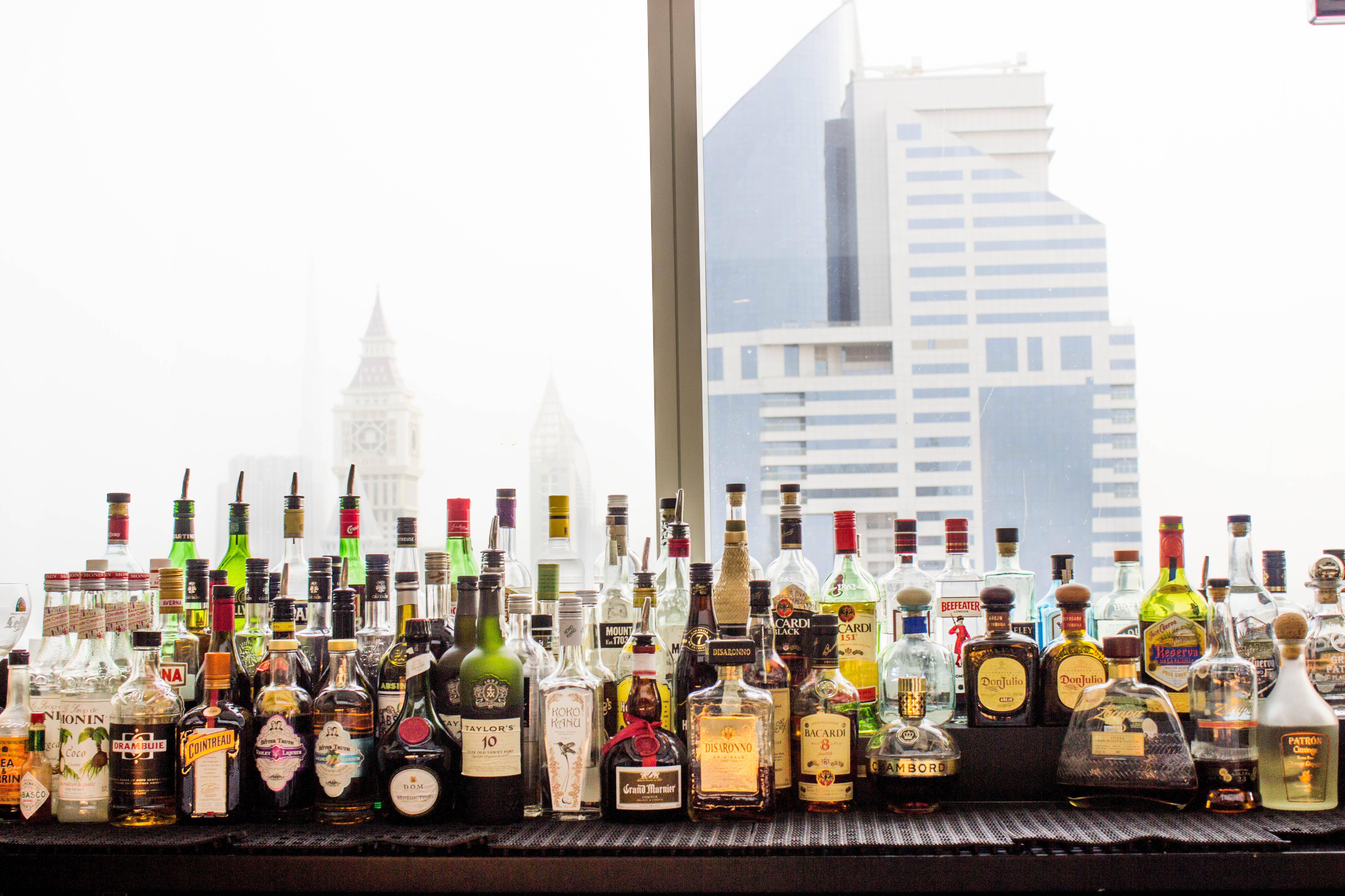 Bar at Nassima Royal Hotel.