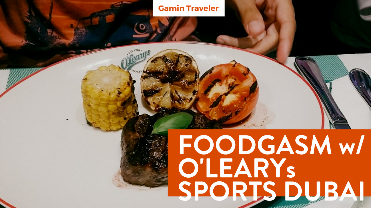 Restaurant and Food Review - O Learys Sports Dubai - Featured