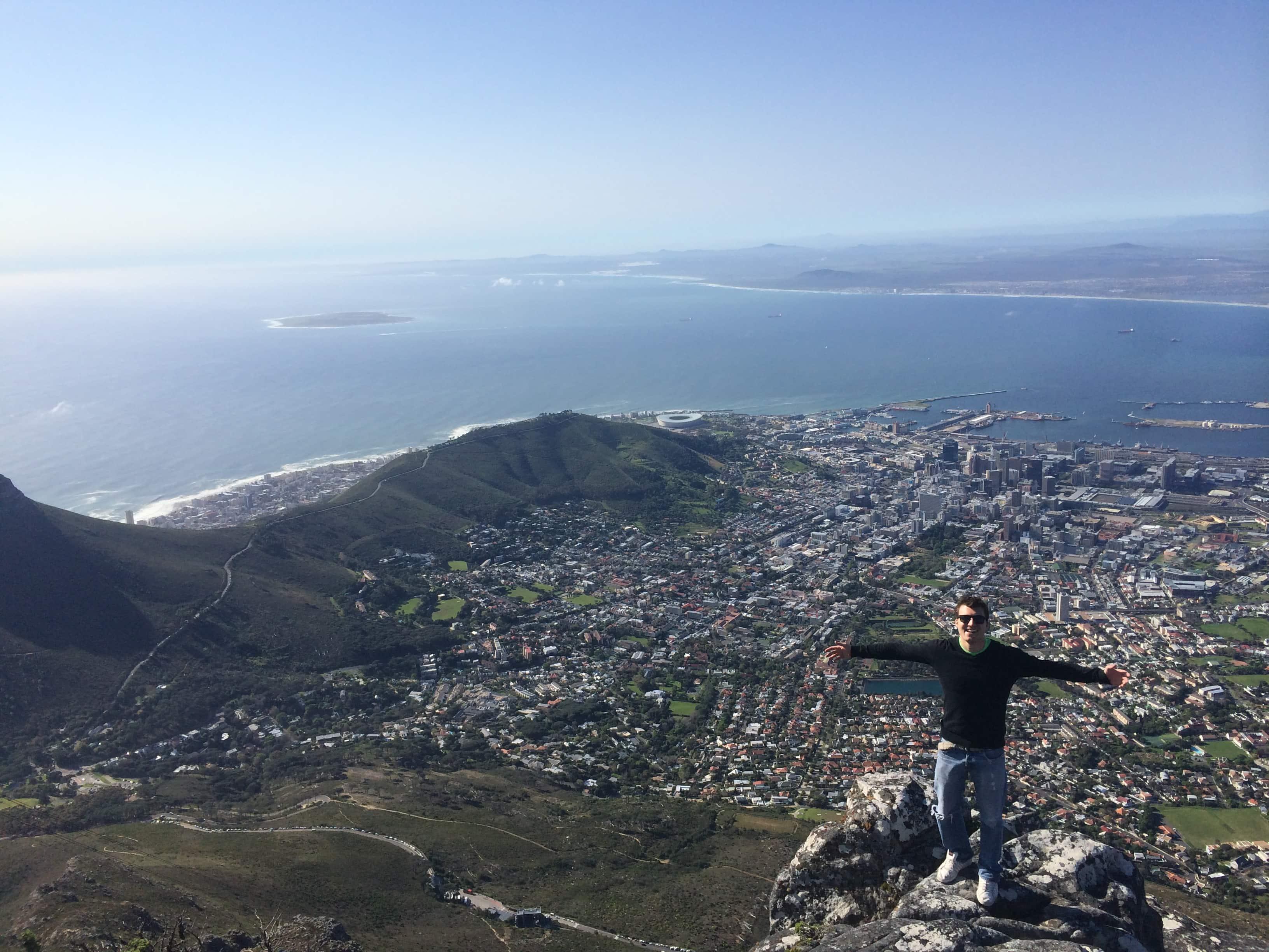 Max in Cape Town.