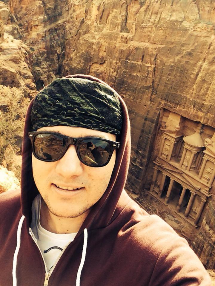 Max in Jordan.