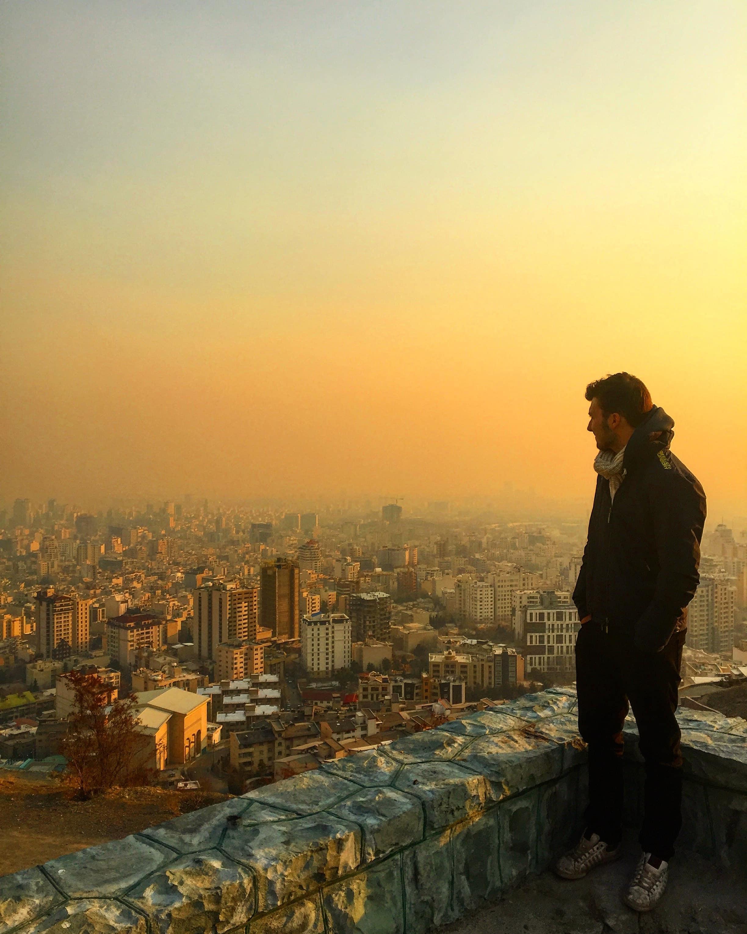 Max in Tehran.