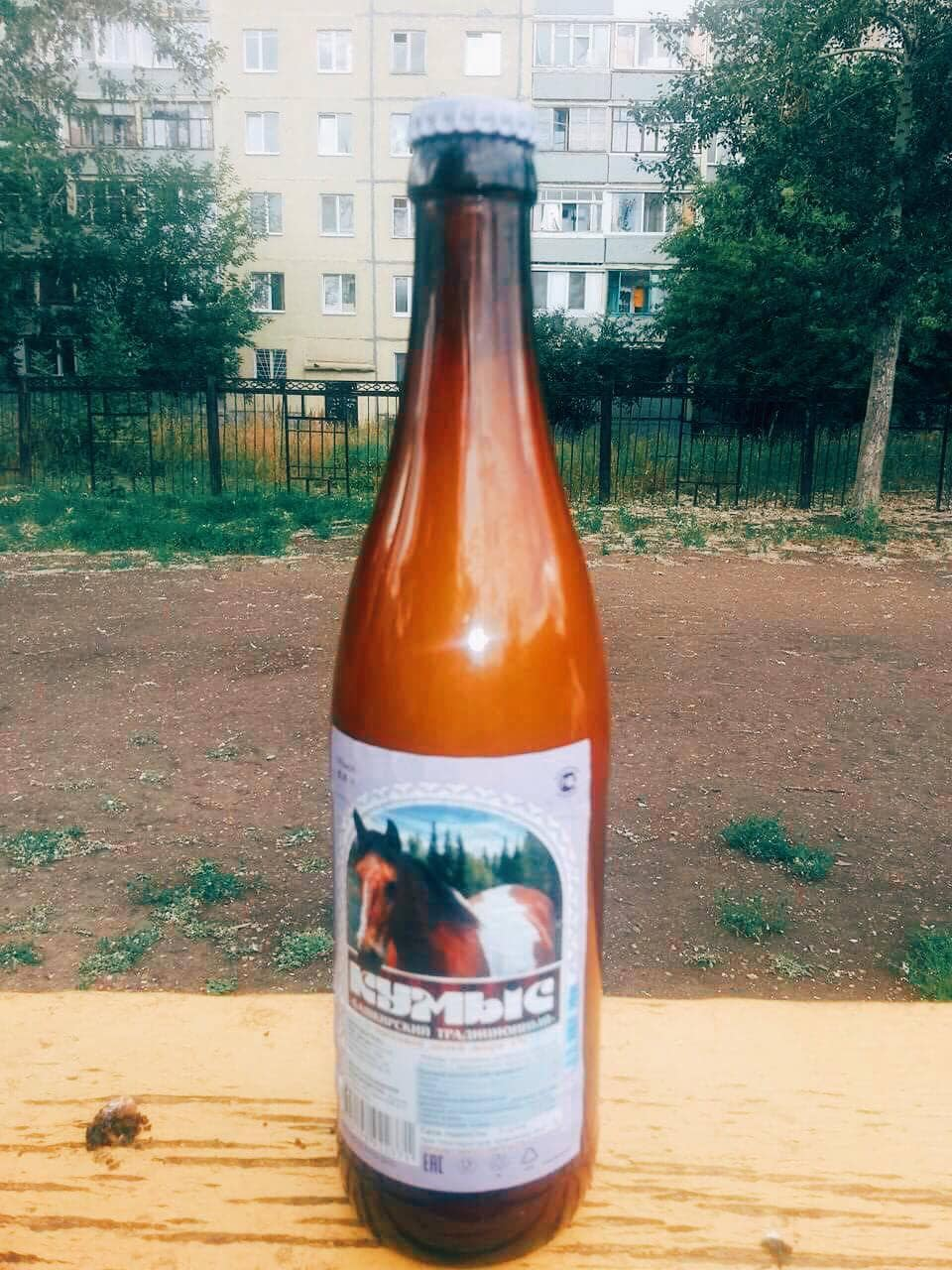 Drinking Horse Milk visiting Russia.