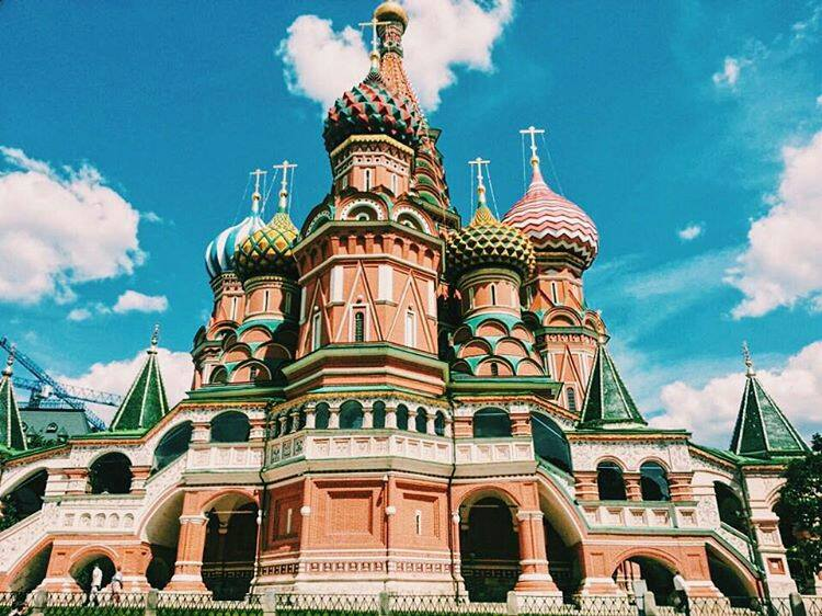 Travel Russia and visiting Moscow.