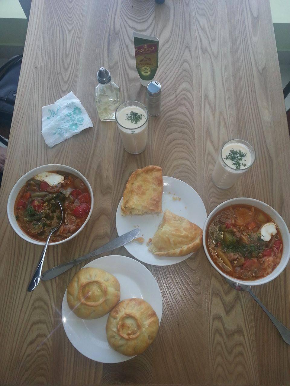 Food in Tatarstan in my travel Russia.