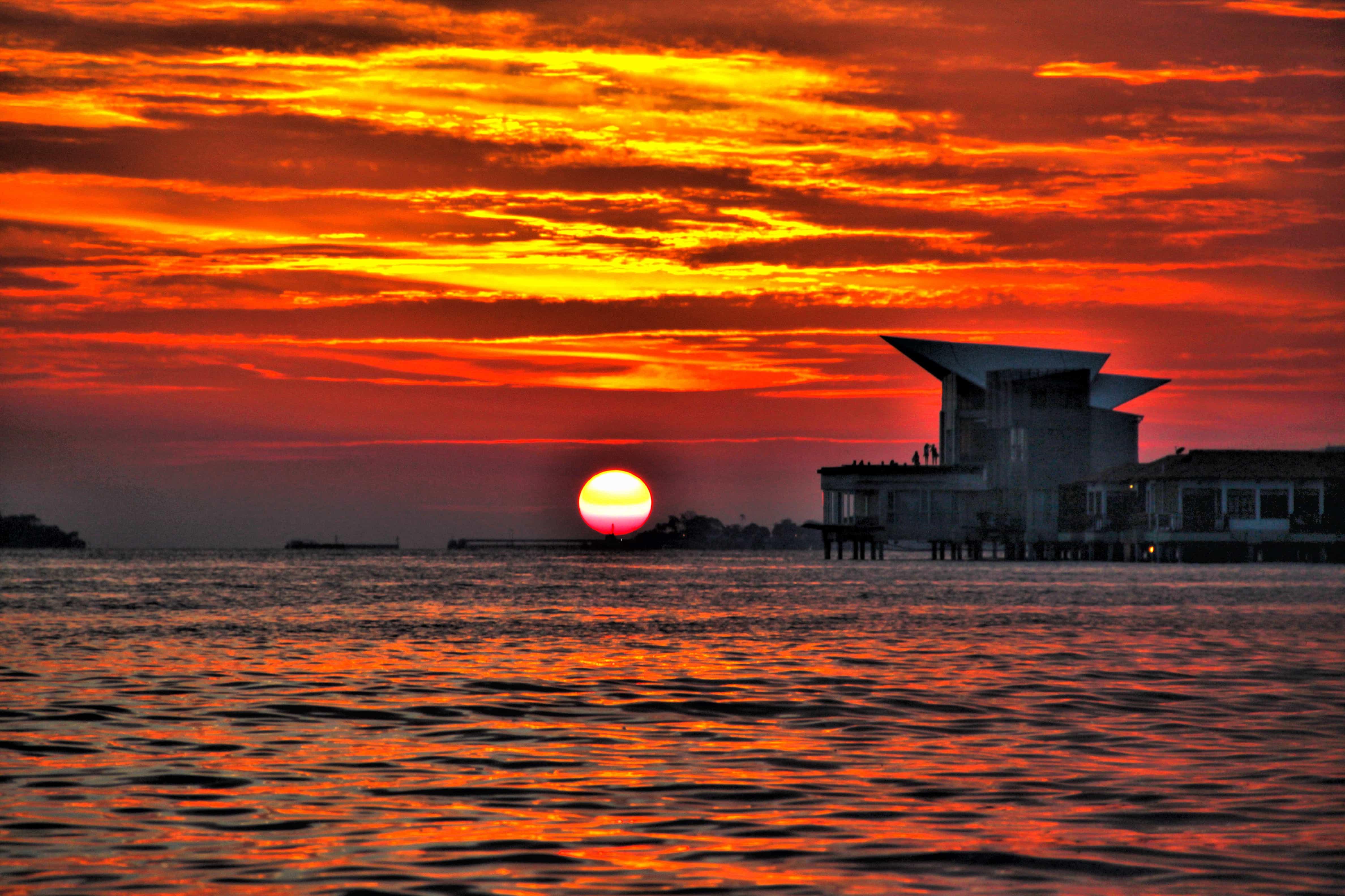 Sunset at Port Dickson