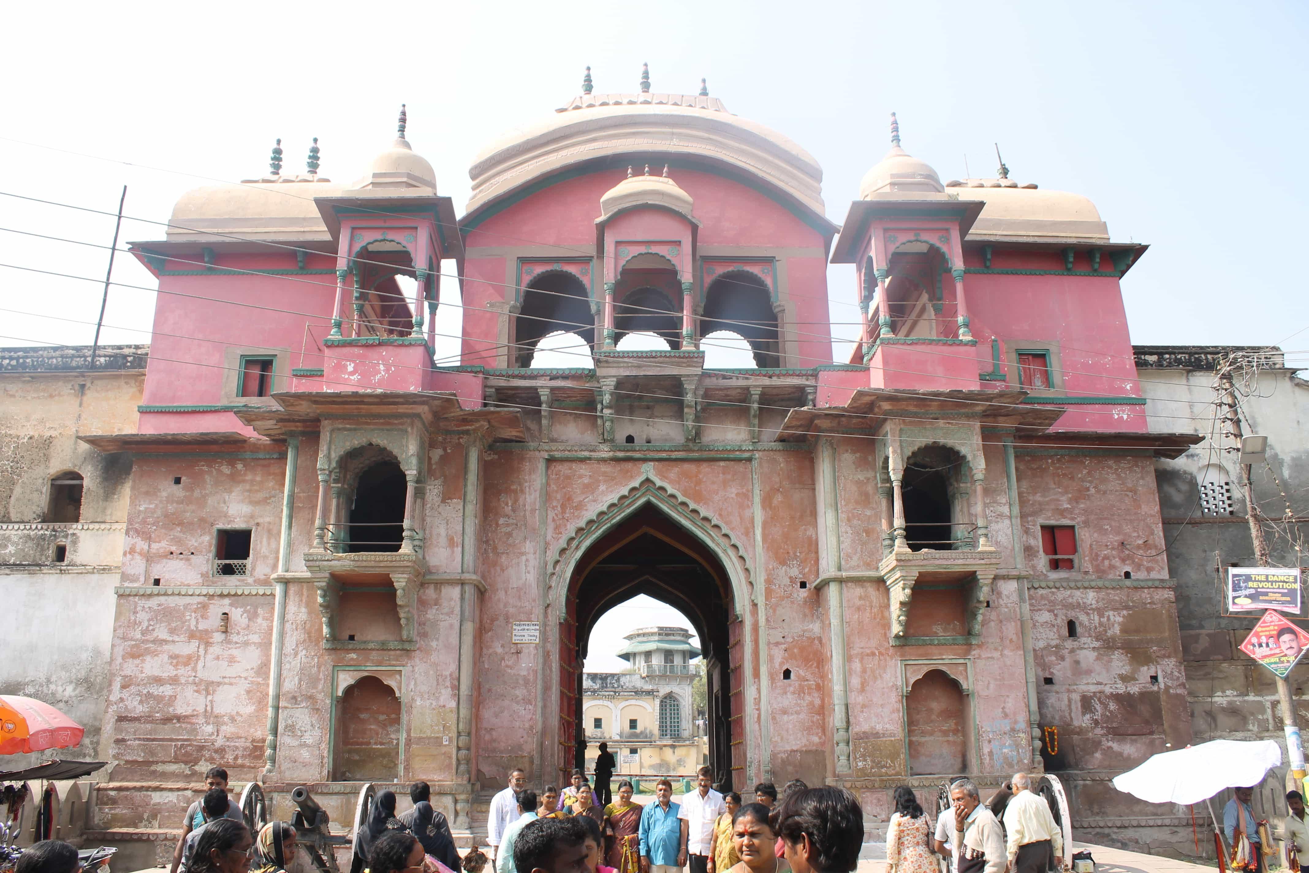Visit the Fort backpacking Varanasi