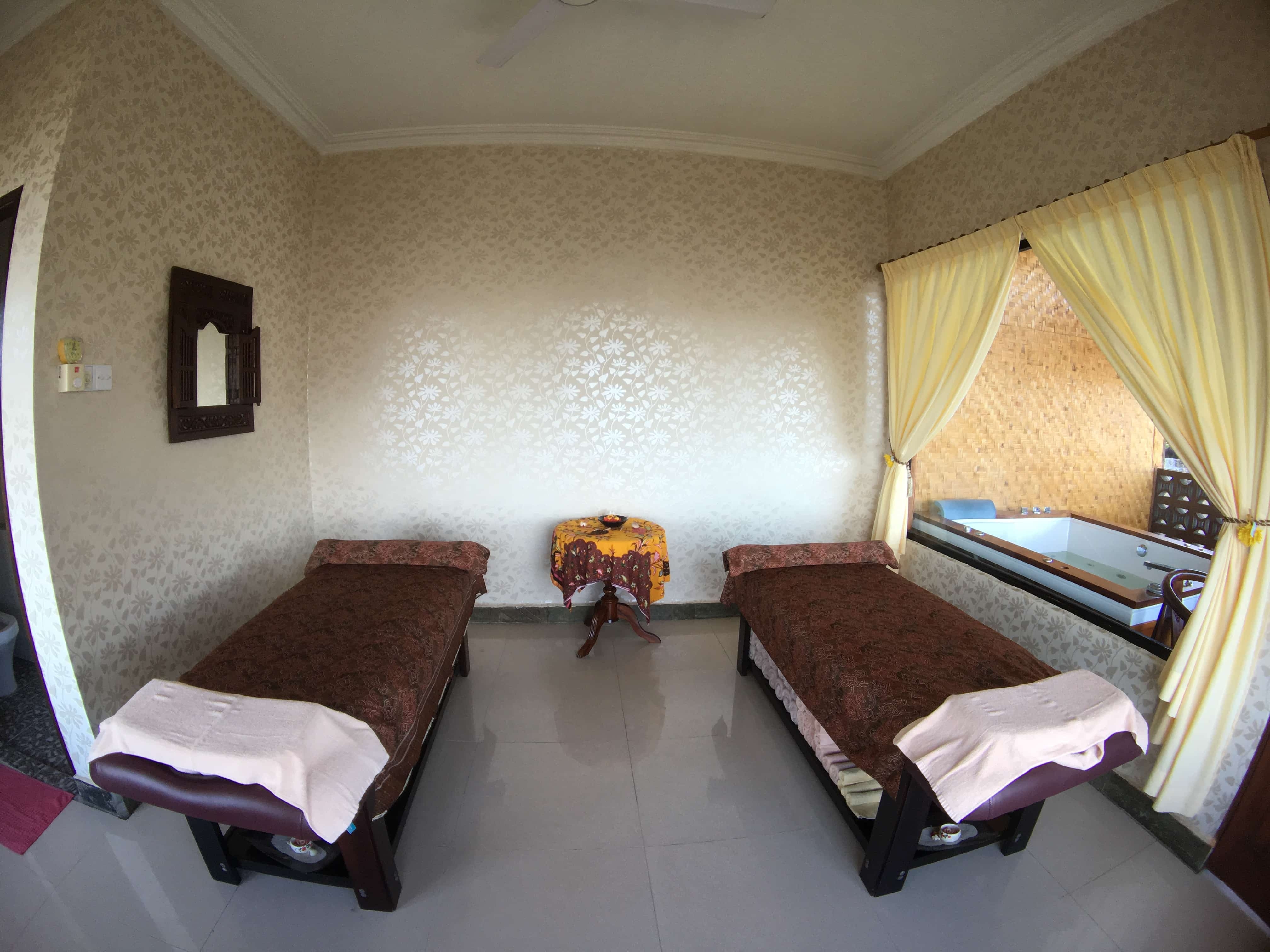 A massage in Bintan Resorts