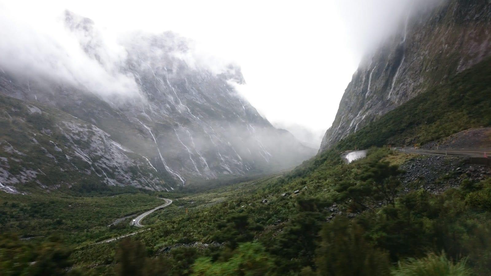 Landscape in Milford Sound