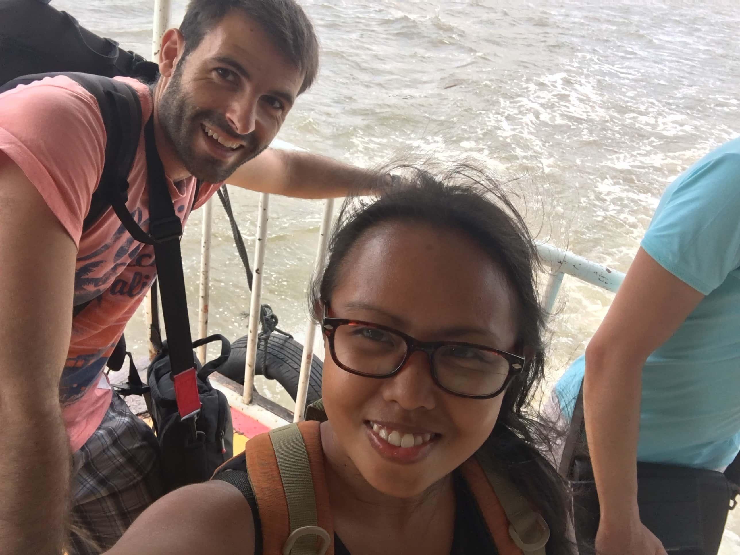Love during travel in Bangkok