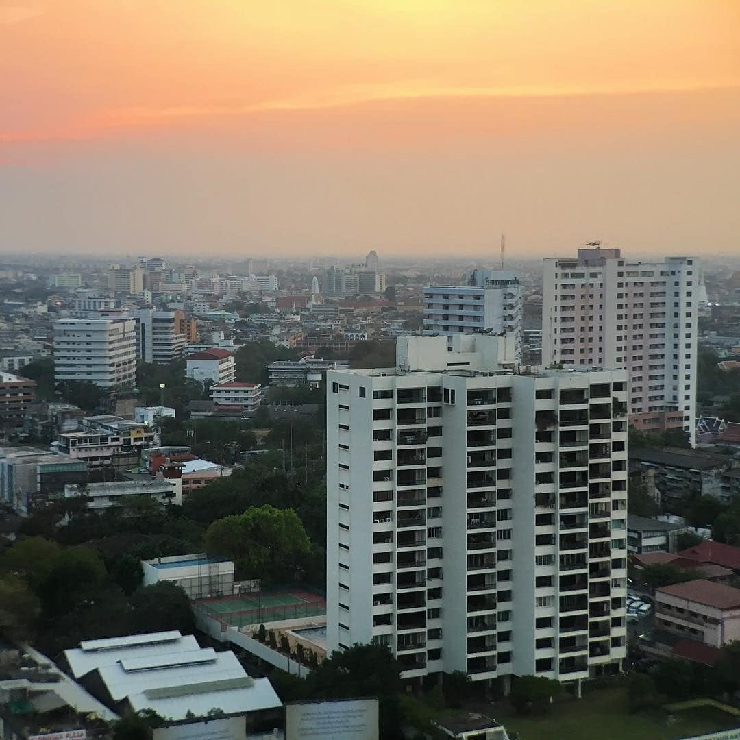 Sunset in our Bangkok experience
