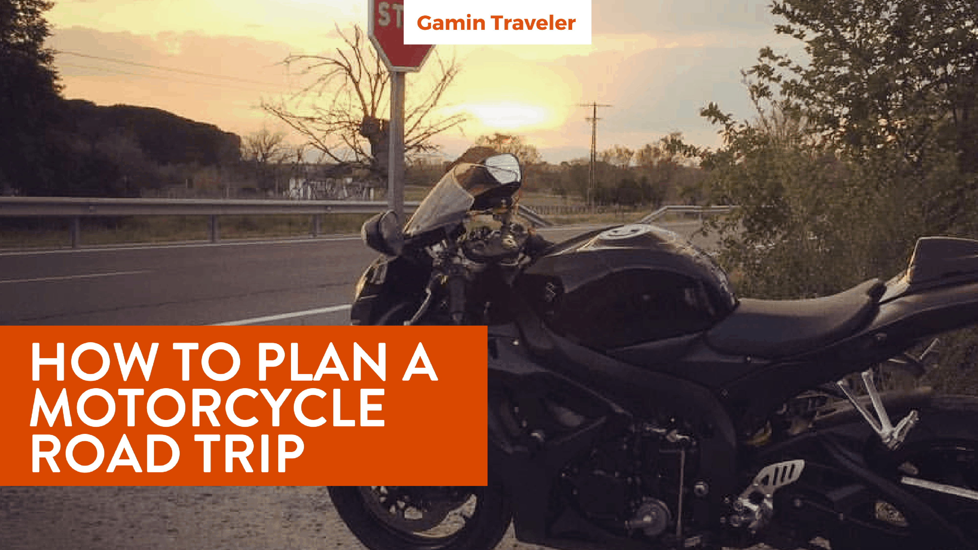 Road Trip With A Motorcycle: How To Plan