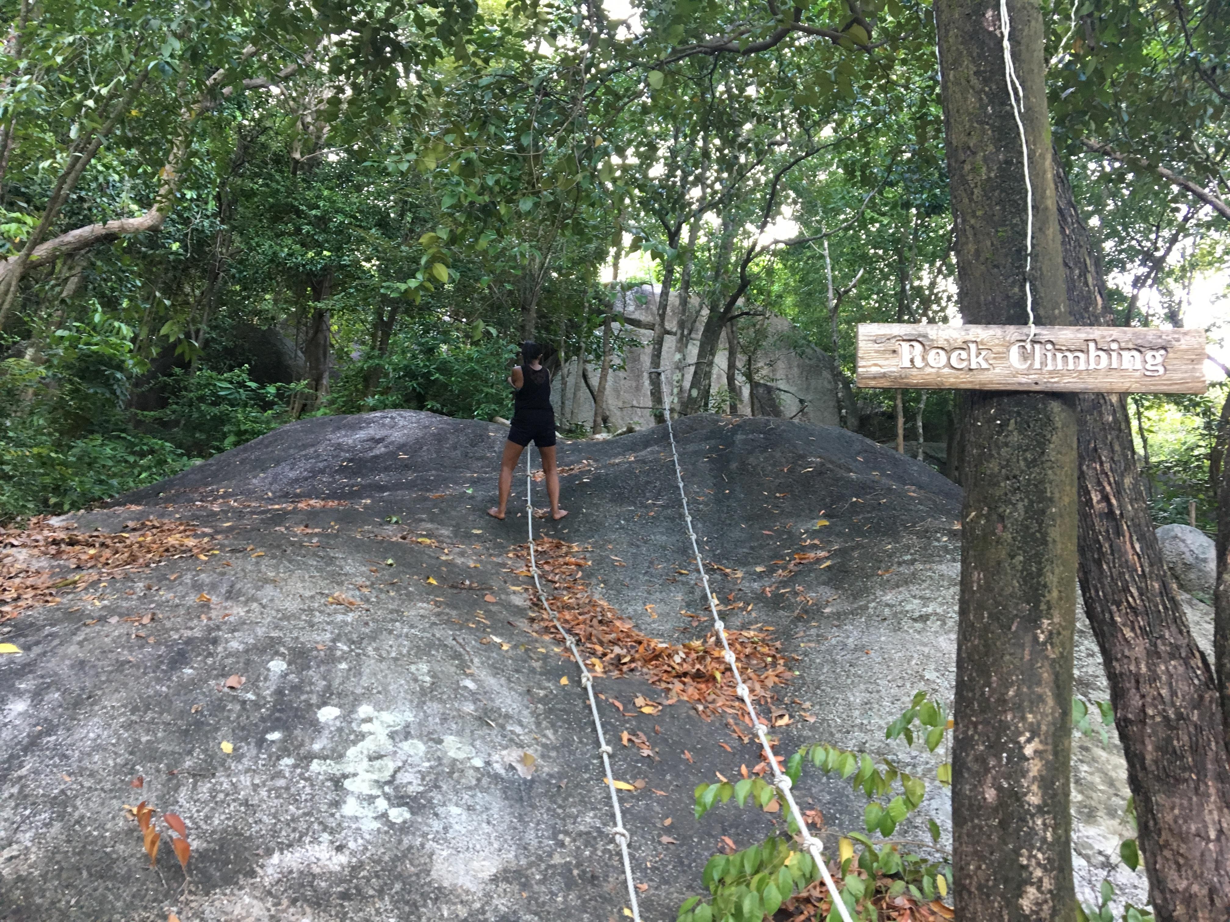 Visit Koh Phangan: Rock Climbing
