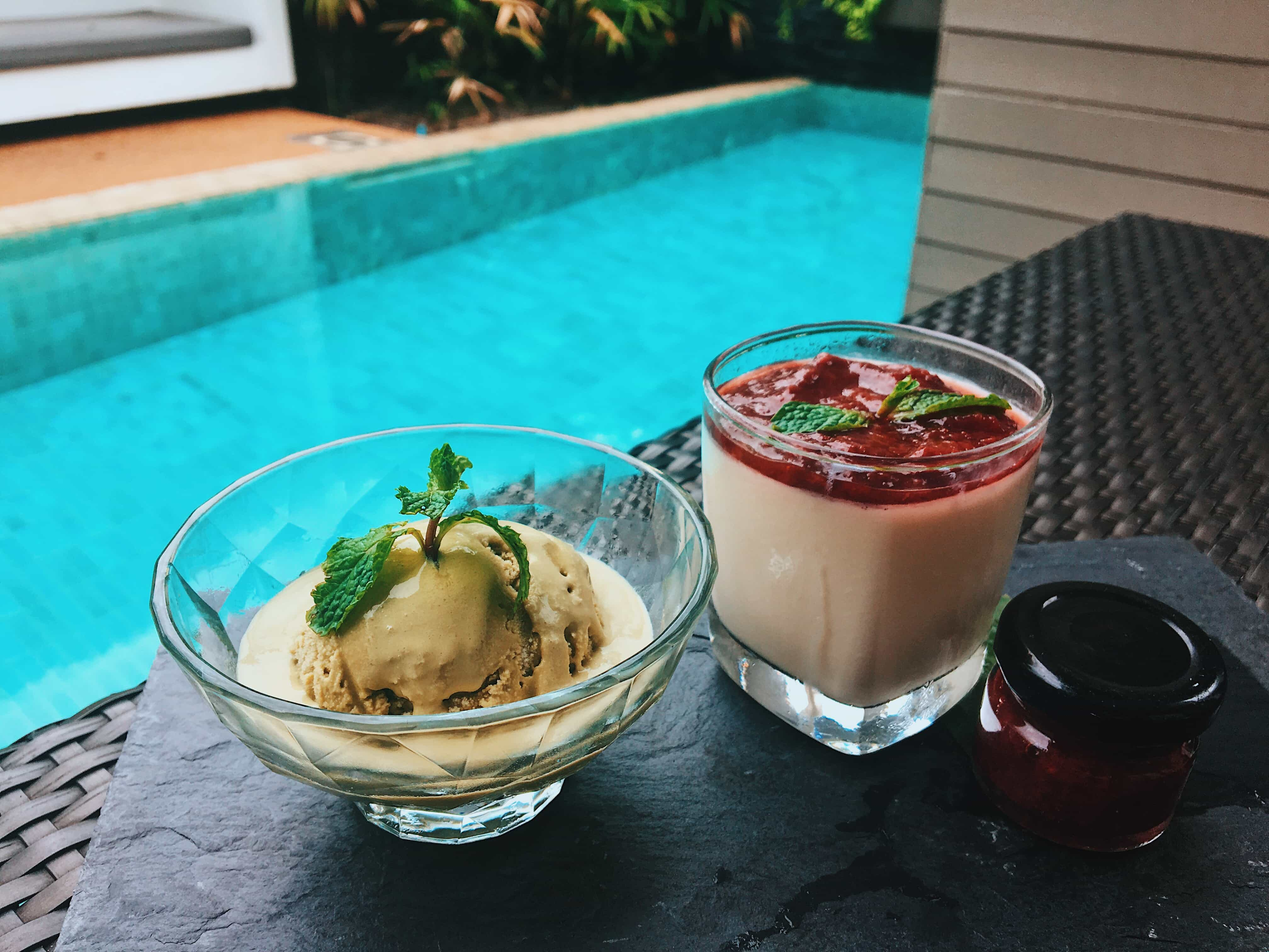 Desserts at X2 Koh Samui Resort