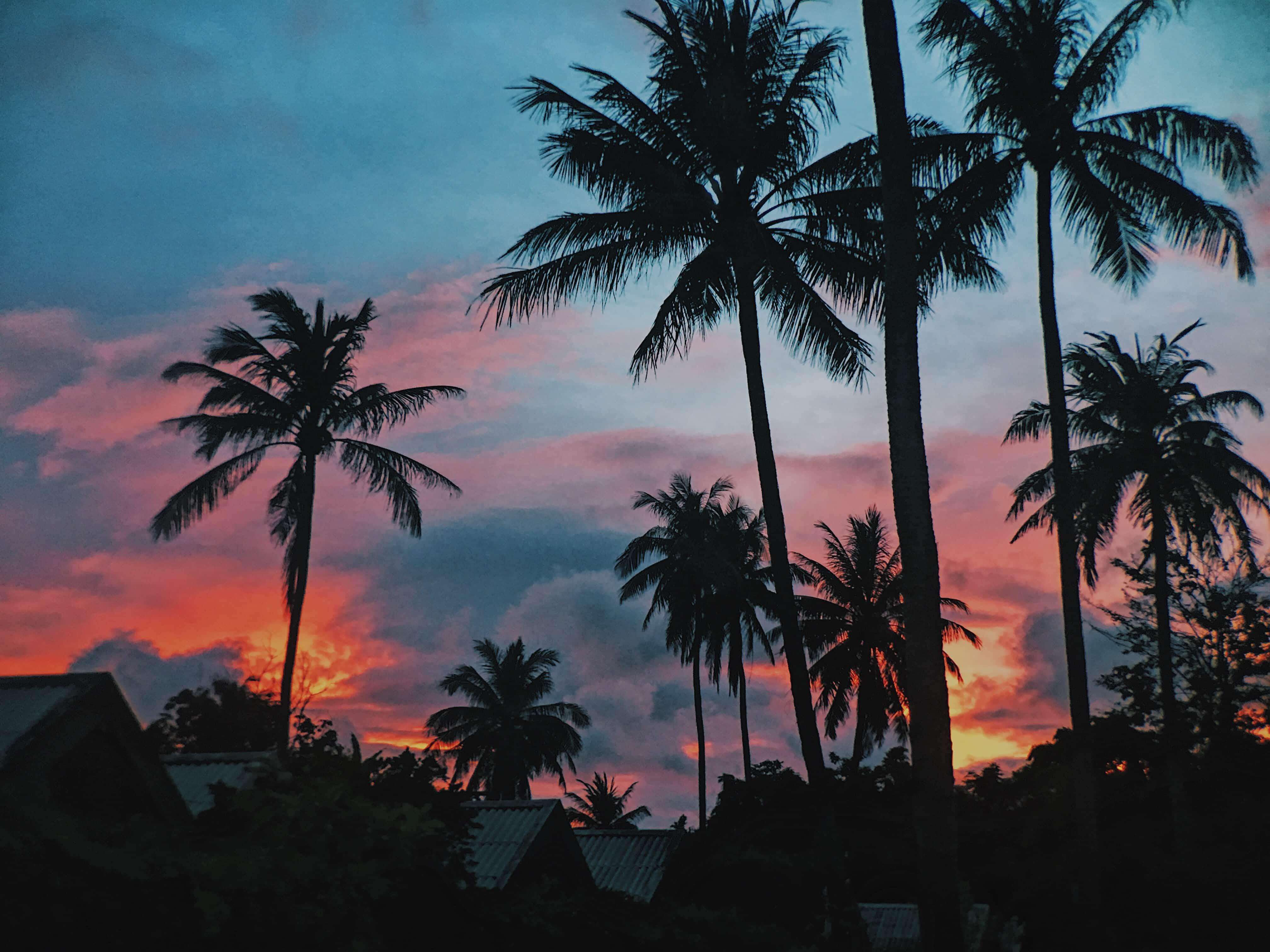 Sunset at X2 Koh Samui Resort