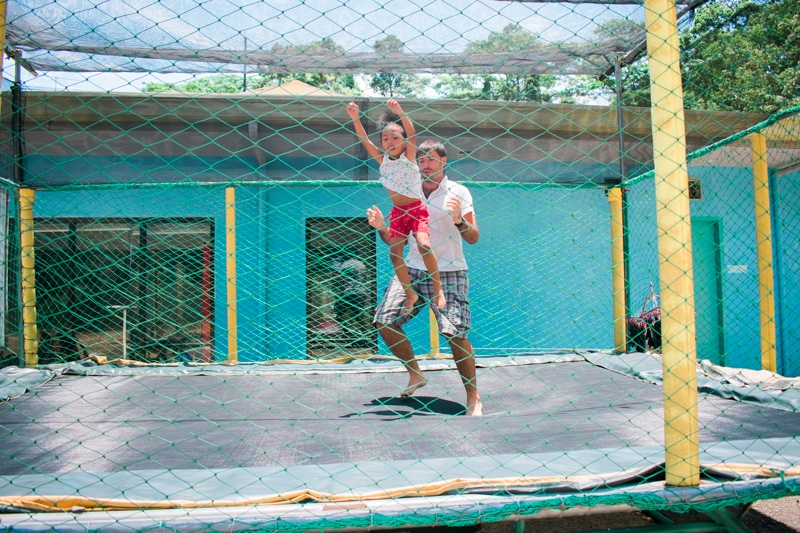 Trampoline in Subic adventure