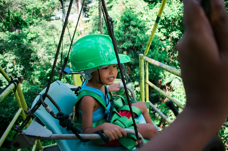 Subic adventure: canopy