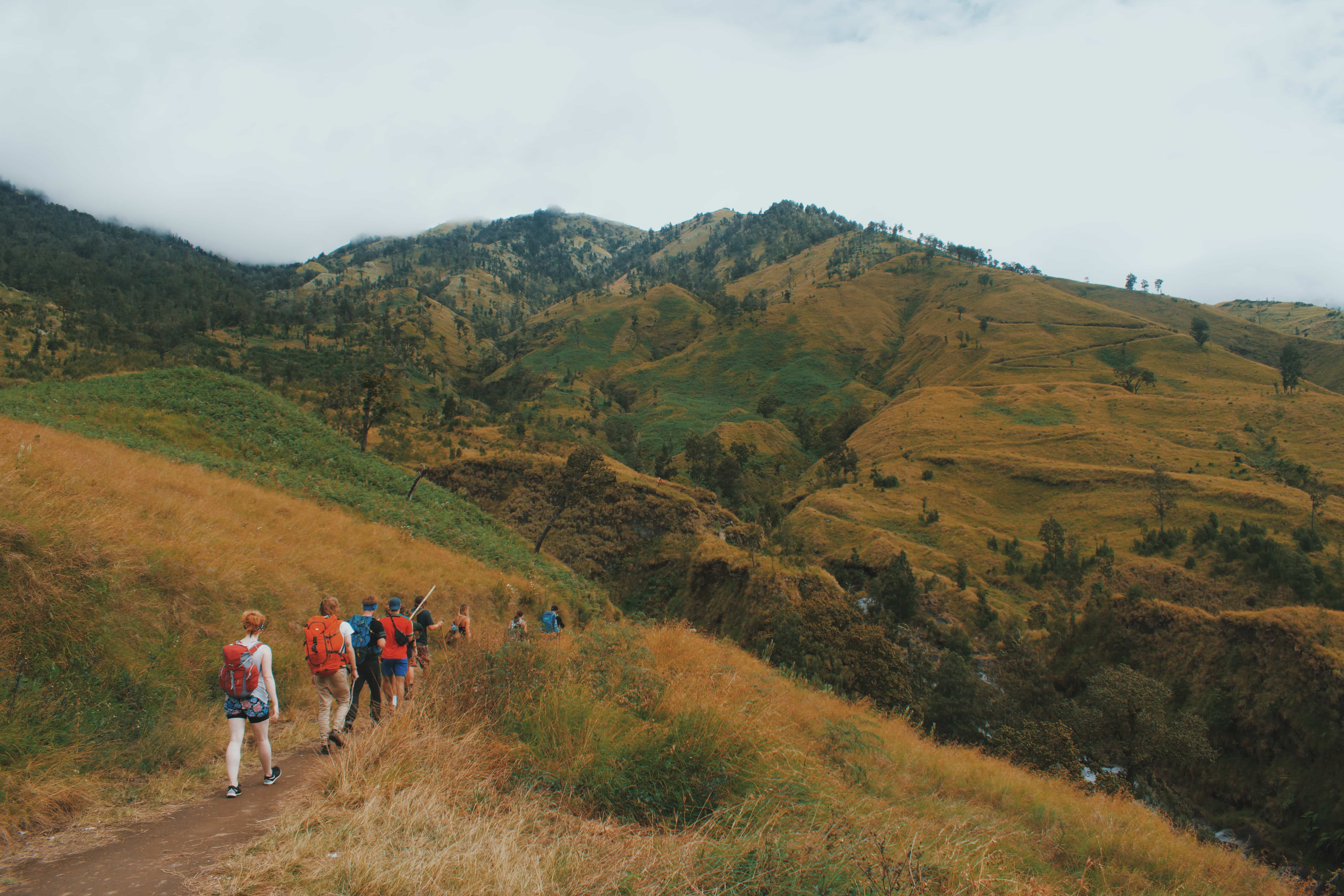 Mount Rinjani is a very challenging trek. This is a mountain very sacred to Hindus in Indonesia.