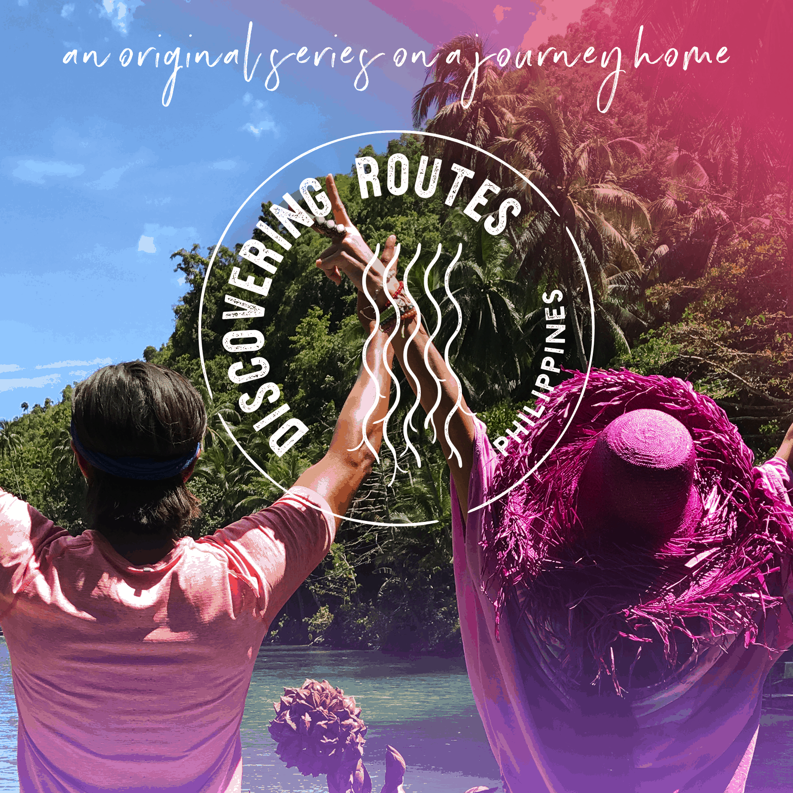 Discovering Routes is a new show about Misti and Garrett Gee, setting off to discover Philippines and their roots