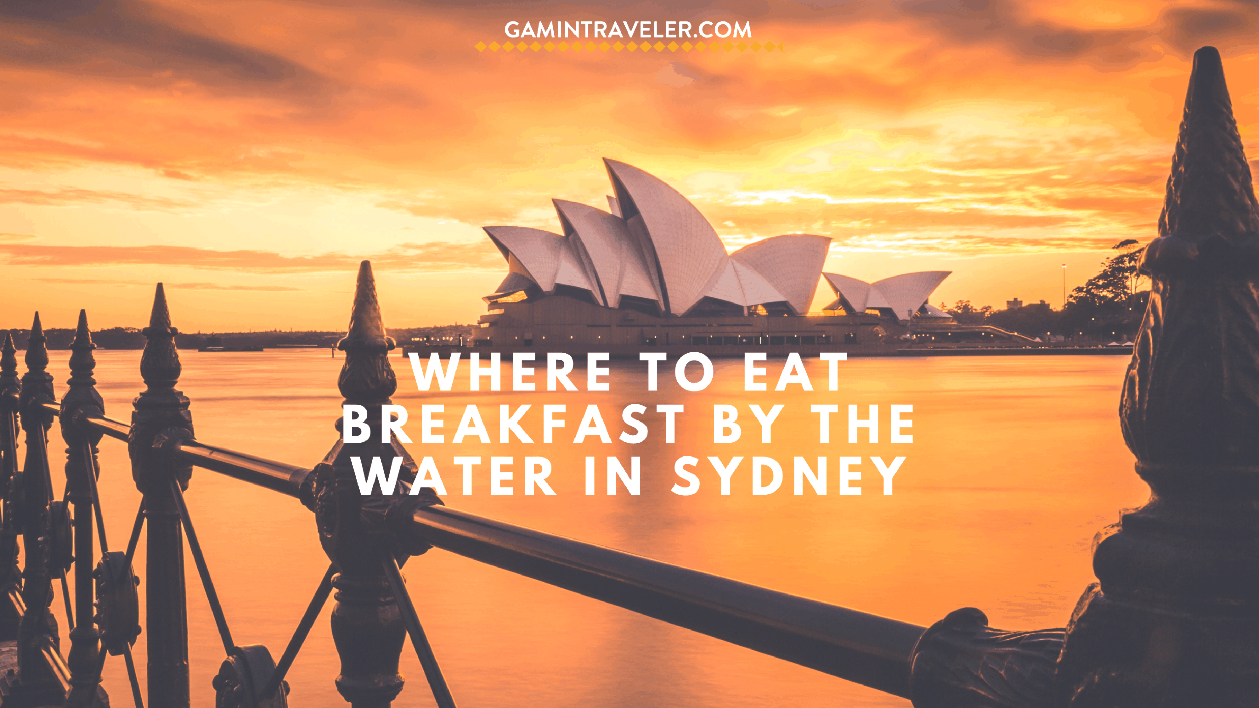 Where to Eat Breakfast by the Water in Sydney
